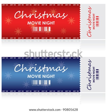 Special tickets for Christmas movie night