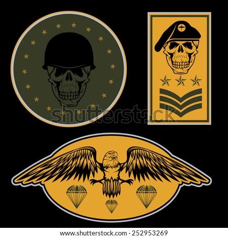 special unit military emblem