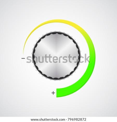 special volume control button