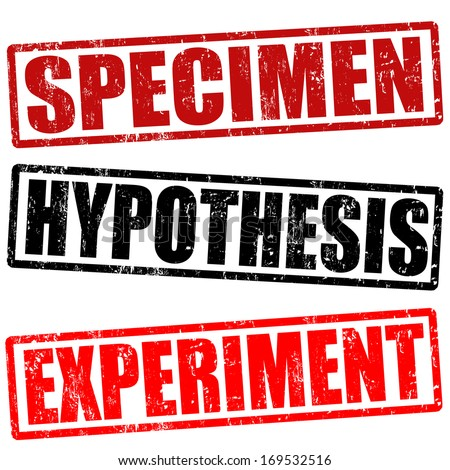 Experiment Hypothesis Hypothesis And Experiment