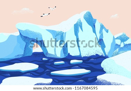 spectacular arctic or antarctic