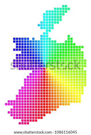 spectral ireland republic map