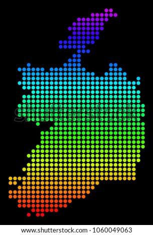 spectrum dotted pixel ireland