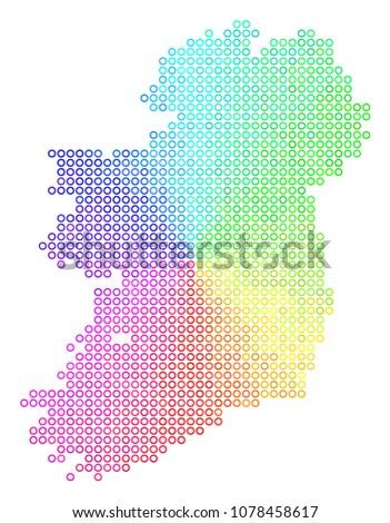 spectrum ireland island map