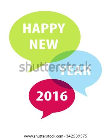 Speech bubble 2016