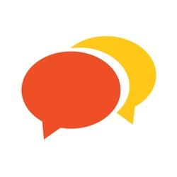 speech bubble icon - communication symbol