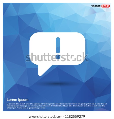 Speech bubble icon - Free vector icon