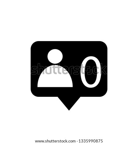 speech bubble zero friends for t-shirt and apparels graphic vector print.Vector illustration