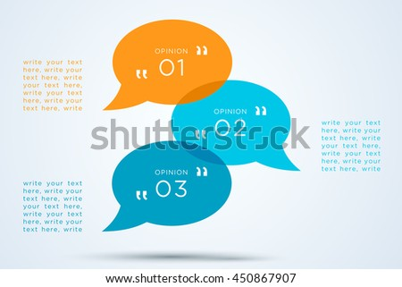 speech bubbles transparent with