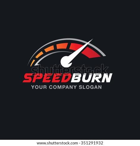 speed burn automotive logo