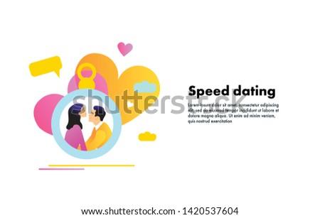 Speed Dating affisch