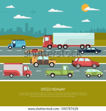 speed highway design concept