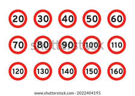 speed limit 120  110  20  30