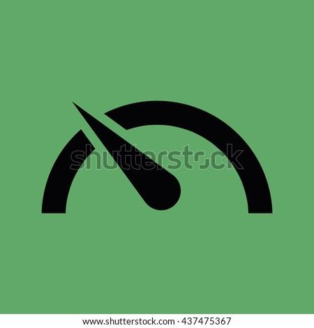 Speed limit vector icon