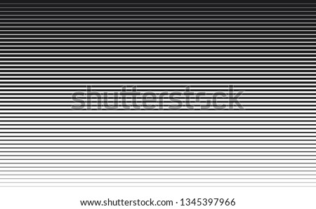 Speed lines background thick to thin