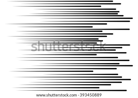Speed lines Flying particles Seamless pattern Fight stamp Manga  graphic texture Sun rays or star burst Black vector elements on white background
