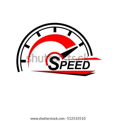 Speed logo design.icons vector