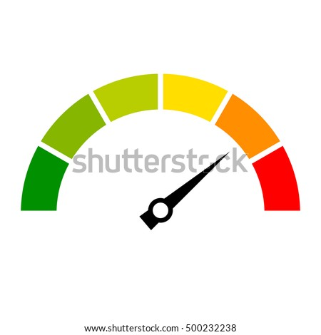 Speed metering icon vector illustration isolated on white background