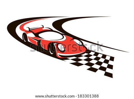 Racing Finish Line Clipart