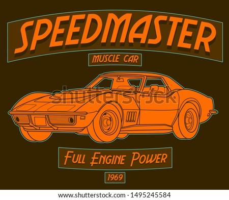 speedmaster muscle car  full