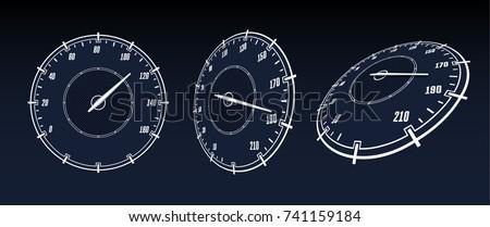 speedometer car panel suitable