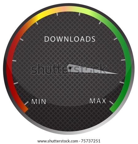 speedometer download button
