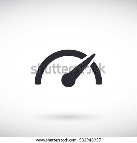Speedometer  icon Сток-фото ©
