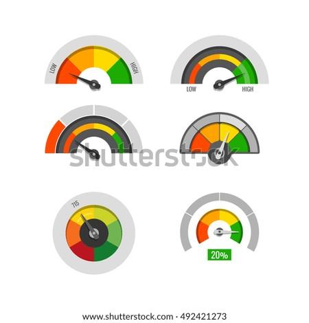 speedometer indicators gauges