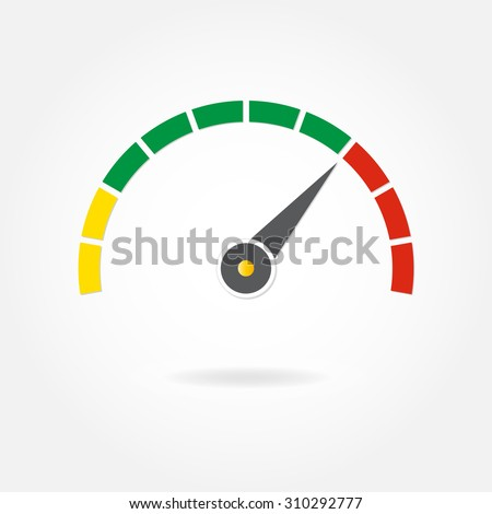 speedometer or tachometer with