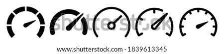 speedometer  tachometer icon