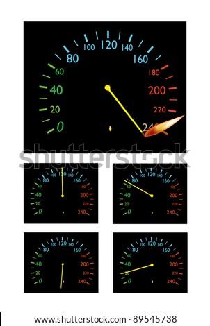 speedometer, the speed