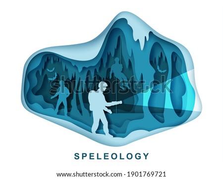 speleology spelunker and bat