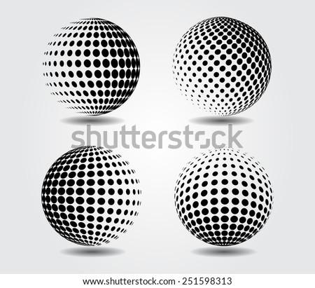 sphere vector illustration