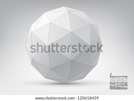 sphere with triangular faces