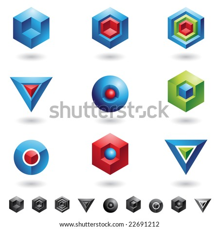 Spheres, Cubes, triangles and three dimensional shapes