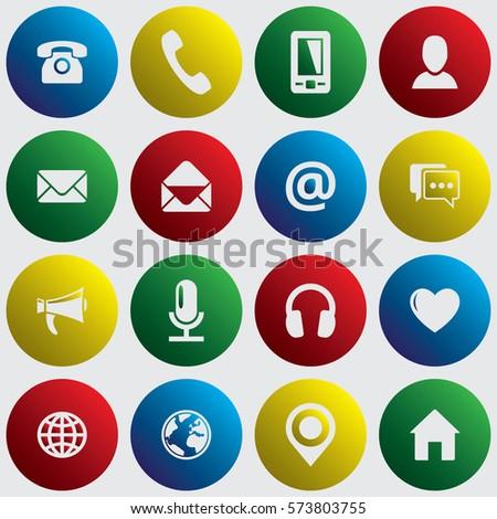 spherical communication icon
