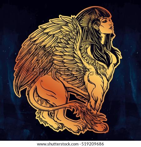 sphinx  ancient beast mythical