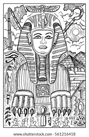 sphinx egyptian mythological