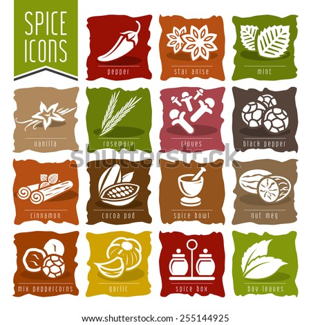 spice icon set   2