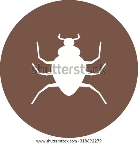 Spider, black, insect icon vector image. Can also be used for Animals and Insects. Suitable for mobile apps, web apps and print media.