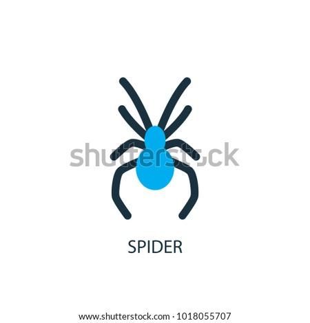 spider icon logo element