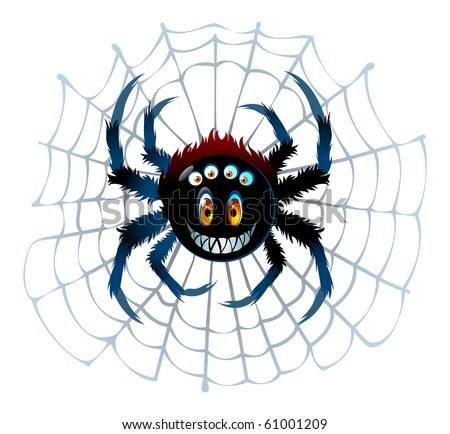 spider's smiling character
