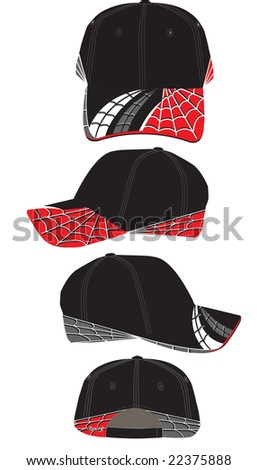 spider web hat