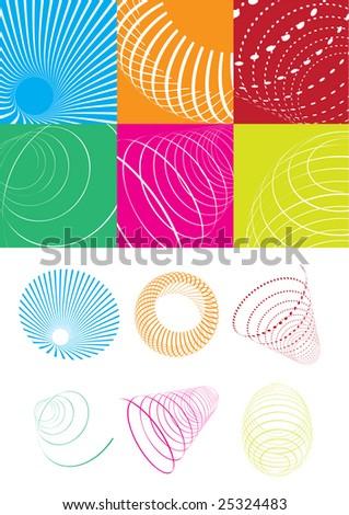 Spiral - stock vector