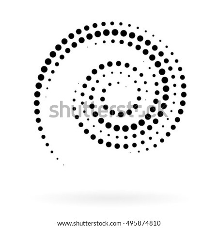 spiral vector illustration