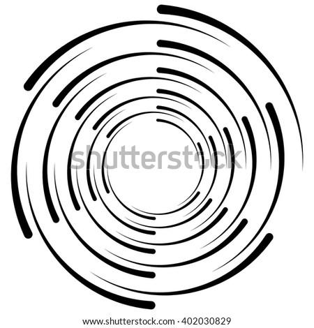 spiral  vortex  swirl shape s