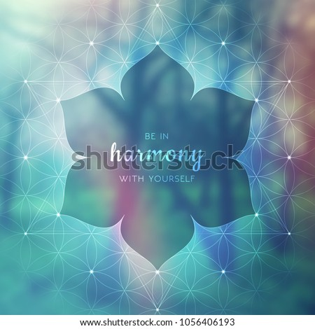 spiritual illustration with