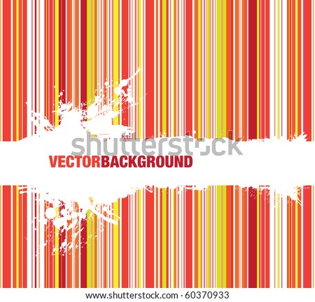 splash line background - stock vector
