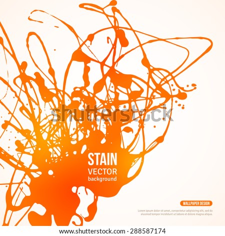 splatter paint banner vector