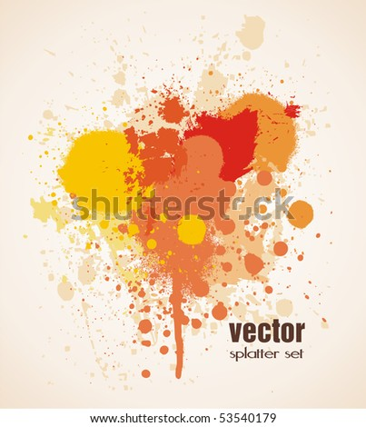 splatter set